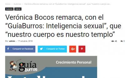 Casa de Letras, medio especializado en el sector del libro, habla del GuiaBurros: Inteligencia Sexual